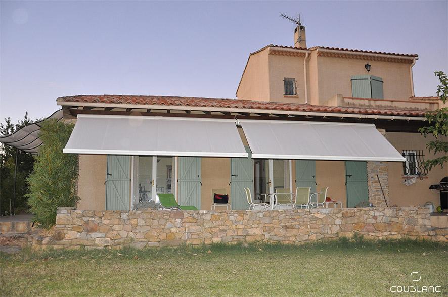 Store Noailly gris maison provençale